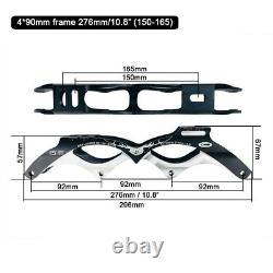 JK Original Cityrun Inline Speed Skates Frame For 4 110/100/90 mm Wheels