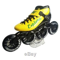 Japy Speed Inline Skates Carbon Fiber Professional 4100/110mm Competition 4
