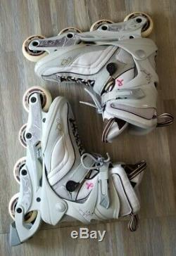 K2 Athena Rollerblades Breast Cancer Size 11 w inline skates speed