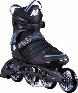 K2 Damen Inlineskates ALEXIS 84 SPEED ALU schwarz blau 30D0270