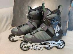 K2 Herren Inlineskates F. I. T 84 Speed BOA Gr. 42 Rollschuhe Skates Inliner Skate