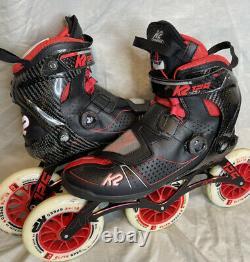 K2 Mod 125 Inline Speed skates 10 US 43.5 EUR Rollerblade POWERSLIDE marathon