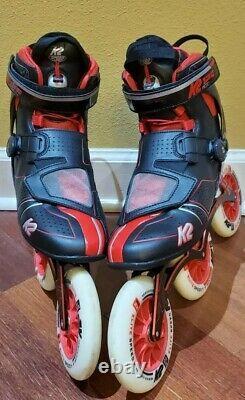 K2 Mod 125 Inline Speed skates 11 US 44.5 EUR Rollerblade POWERSLIDE Marathon