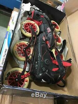 K2 Mod 125 Marathon Inline Skates Elite Speed M12 46 Uni $500 RV size 10.5