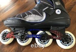 K2 VELOCITY 50 Inline Speed Skates 50th Anniv Red White Blue Men's 13