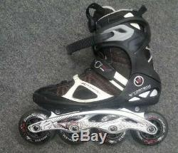 K2 VO2 Max Boa Inline skates Mens Size 10.5, rollerblades fitness speed 90mm