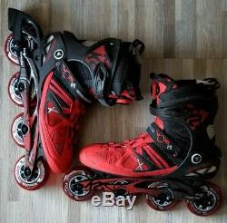 K2 inline skates v02 90 ILQ9 Boa M speed ALUMINUM, wheels 90mm 83A sz12.5