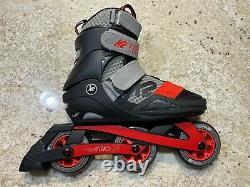 K2 trio 100mm inline skates size 8 NEW rollerblades speed