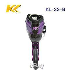 KL skate professional inline speed skate, inline racing skate size 34-46