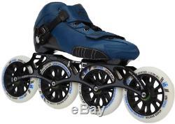 KRF The New Urban Concept Kids' Speed 616 Inline Skates, Blue, Size UK 13 EU