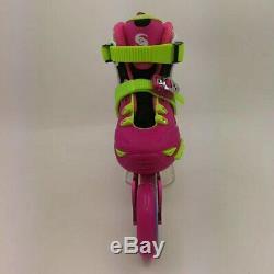 Kid's 390mm Speed Inline Skates EUR Size 28-39 Adjustable Street Racing