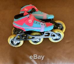 Kids Bont Inline Speed Skates Size 2/34 Boot is practically NEW