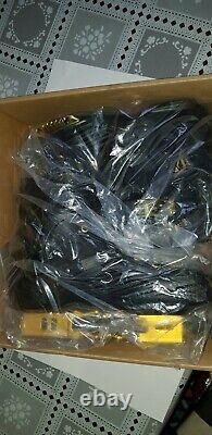 LIKU Performance 76/80mm 4WD Speed Inline Skates Unisex, Black/Gold, Size 8.5