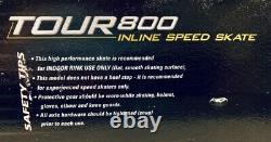 Labeda 5 Wheels inline Roller Blade Skates High Speed For Racing Super Fast