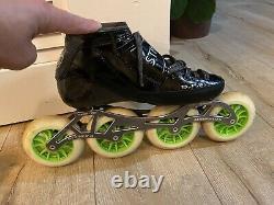 Luigino 4x110, inline speed skates, size 9 /42