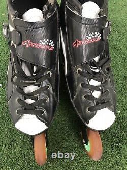 Luigino Attitude 4x inline speed skates, size 13 Adult