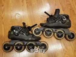 Luigino Challenge Inline Speed Skate Boots Size US men's 11/ Euro 44