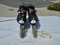 Luigino Inline Speed Skates Attitude Size 9 Pilot Plates Excellent Condition