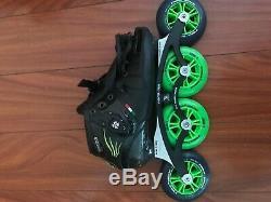 Luigino Inline Speed Skates Size 8