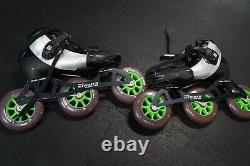 Luigino Kids Mini Challenge 3 Wheel Adjustable Inline Speed Skate. Size 2-5