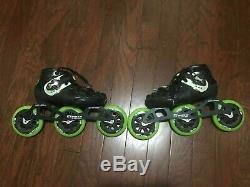 Luigino Kids Mini Challenge 3 Wheel Adjustable Inline Speed Skate Size 2-5