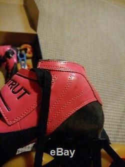 Luigino Strut B. F. T. Pink Inline Speed Skate Boot Size 4