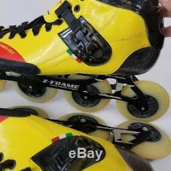 Luigino Strut Inline Speed Race Skates 14 us EU 46 4 z-frame 4 wheel 195-4x105
