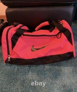 Luigino Strut Inline Speed Skates Neon Pink bundle size 6 Nike Bag Razor Pads