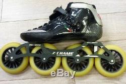 Luigino Strut Inline Speed Skates Size 11US 43EU Z-Frame 4 Wheel 21787-1