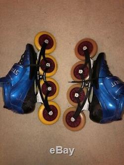 Luigino Strut Inline Speed Skates Size 14US