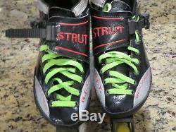 Luigino Strut Inline Speed Skates Size 8US 40EU Z-Frame 4 Wheel