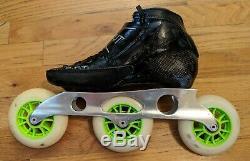 Luigino Strut inline speed skates size 4 US / 36 EU