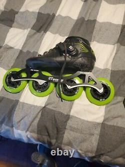 Luigino inline speed skates mens size 7 US