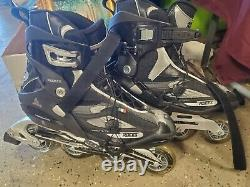 Mens Roces S-255 Inline Speed Racing Skates / Rollerblades, Size 15, GoFaster