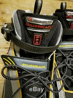 Mens Rollerblades Lightning 03 Inline Skates Sz 9 EU 42 Fitness Speed