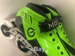 NEW Mota Inline Speed Skates Carbon Size 7 Euro 39