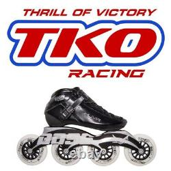 NEW TKO Inline Racing Boots Speed Skating Size 40