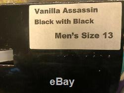 NEW Vanilla Assassin Black Men's Size 13 Inline Speed Skates
