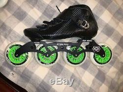 New Atom Pro Inline Speed Skates Men Size 8