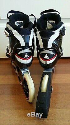 Nice K2 RADICAL PRO 2X110 2X100 ILQ9 Marathon Inline Speed Skates size 8.5
