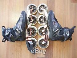 Nice K2 RADICAL PRO 2X110 2X100 ILQ9 Marathon Inline Speed Skates size 9