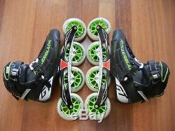 Nice Rollerblade GTM 4x110 Inline Speed skates 10.5 9.5 44 Immaculate Powerblade