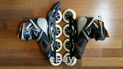 Nice Rollerblade Speed Machine RX110 4x110 Inline Speed skate 11 44.5 Powerblade