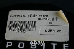 Nos K2 Composite 5 Wheel Inline Speed Skate Frames