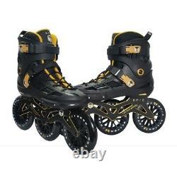 Open Box, Epic Skates 125mm Engage 3-Wheel Inline Speed Skates Size 8