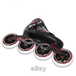 Original Cougar SR8 Speed Inline Skates Carbon Fiber Professional Competition