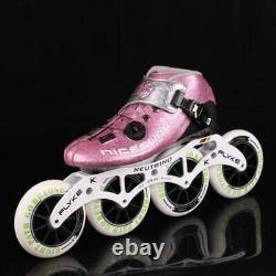 Original NICESLIDE Self locking Carbon Fiber Speed Inline Skates Professional