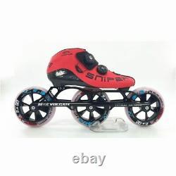 Original Professional BE+VE SNIPER Inline Speed Skates 3X125mm Cado Dual-hard
