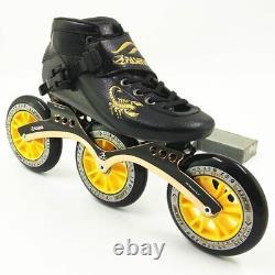 PASENDI carbon racing skate city run roller inline skates speed man women