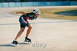 Playlife Performance Inline Speed Skates Black & White EU 37 / YTH 8